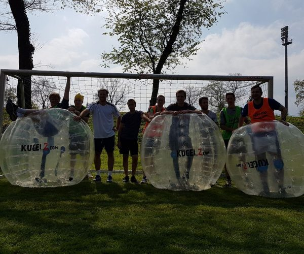 Polterabend Kugelz Bubble Soccer